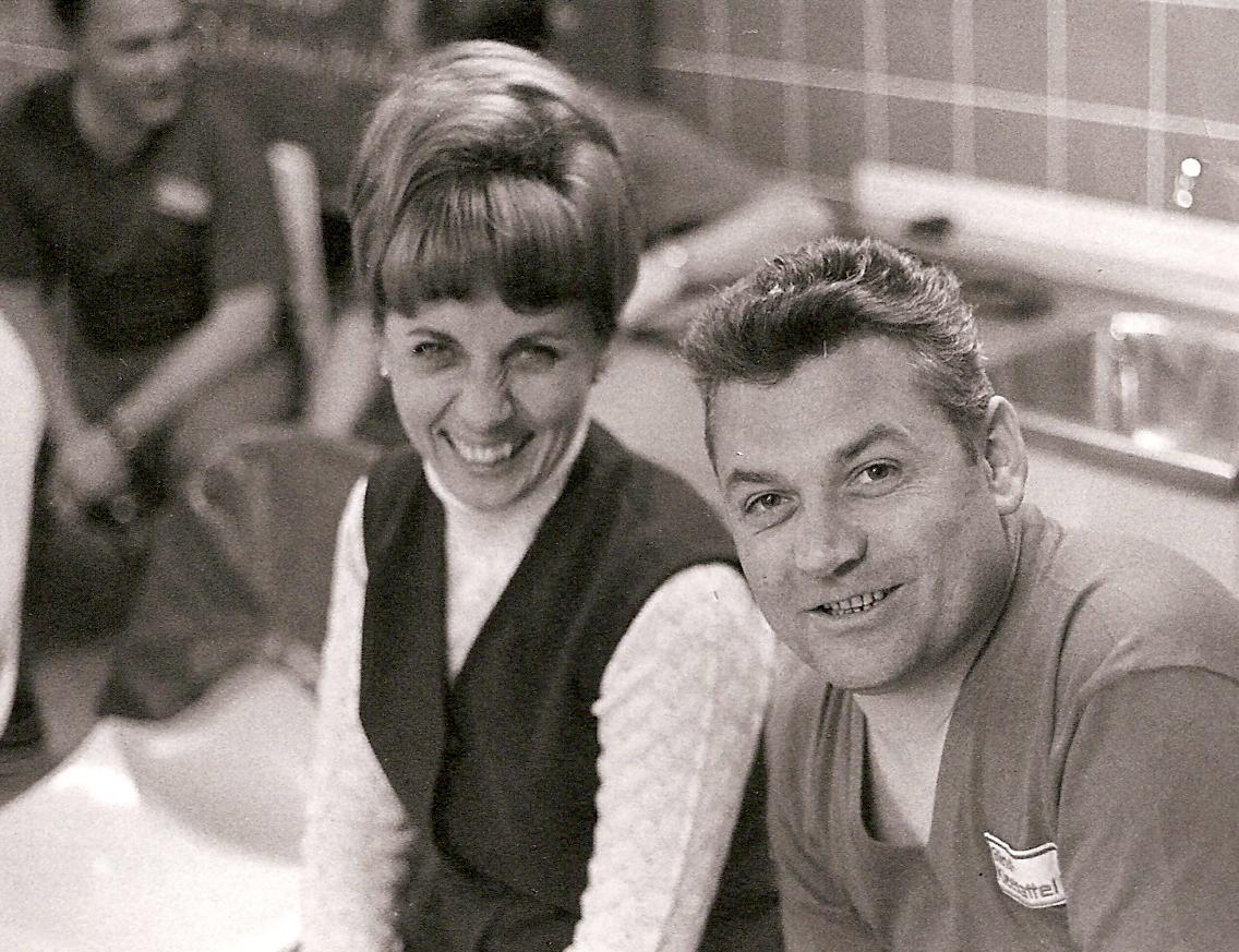 Margot und Erich Kleesattel 1970