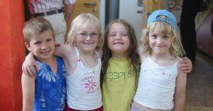Kinder des SOS Kinderdorfs Sulzburg